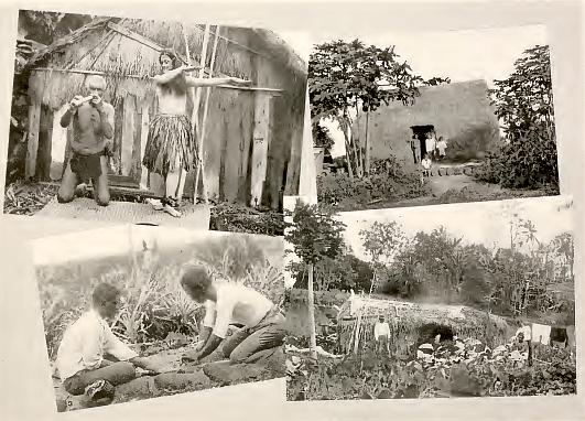 1902 Hawaii Historic Photo Print Hawaiian Man Pounding Poi